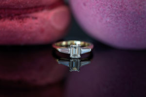 Floating Engagement Ring